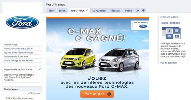 Ford lance un jeu sur Facebook pour la Saint Valentin
