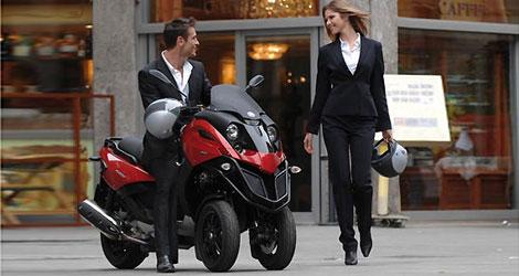 gilera fuoco 500 cc le maxi scoot trois roues. Black Bedroom Furniture Sets. Home Design Ideas