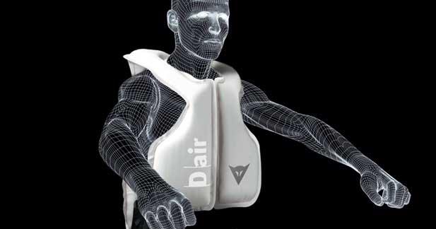Salon Moto Paris 2011: le gilet airbag, nouvel agent de sécurité des deux-roues!