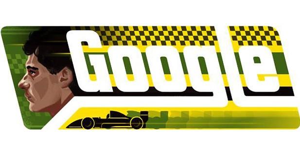 Google célèbre l'anniversaire d'Ayrton Senna