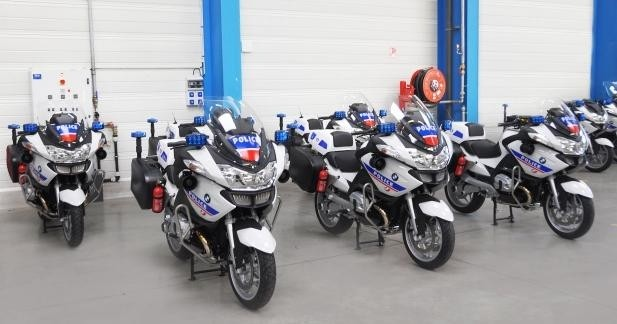 Gruau transforme les BMW pour la Police