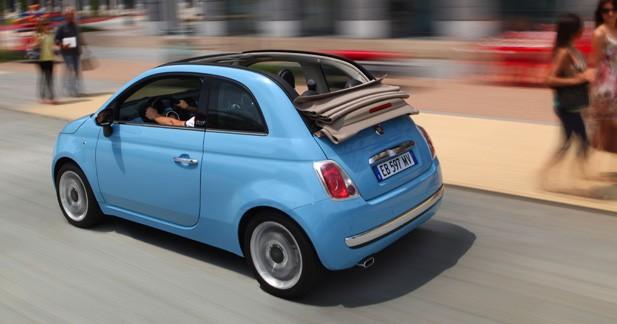 Fiat 500 C, à partir de 14 700 €