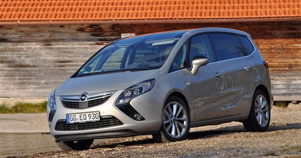 Opel Zafira Tourer : L'autre précurseur