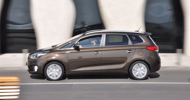 Kia Carens : L'offre rationnelle