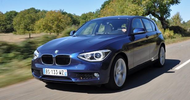 BMW Série 1, en challenger