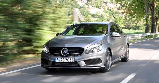 Mercedes Classe A, la petite dernière