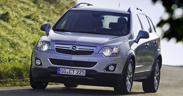 Opel Antara / CHEVROLET Captiva : Parfum d'Amérique