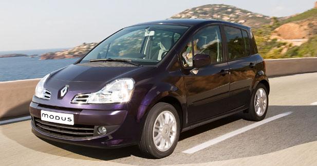 Renault Modus restylé
