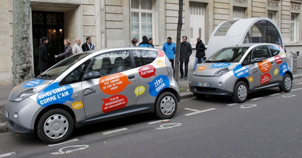 Bolloré Bluecar : La vie parisienne