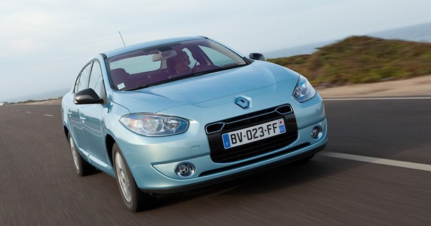 Renault Fluence ZE : Berline callipyge
