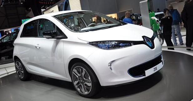 Renault Zoe Z.E. : Belle prise