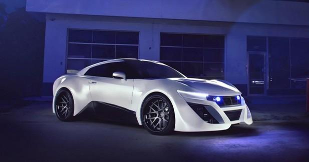 Gumball 3000 2013 : La TG1, une GT-R survitaminée