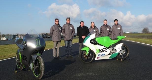 H-KER lance la première moto de vitesse électrique en Europe…