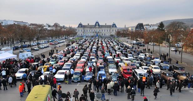 Les voitures anciennes se rassemblent à Epernay le 16 décembre