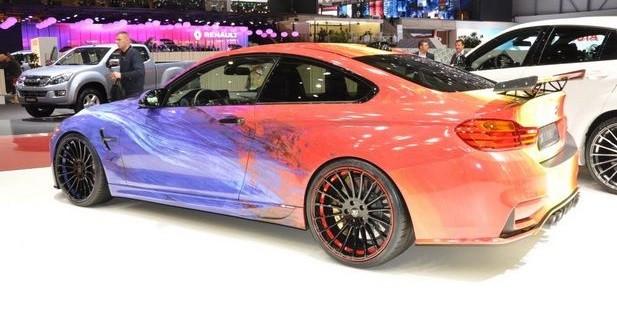 Hamann à Genève: une BMW M4 Art Car de 520 ch