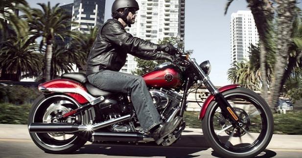 Harley-Davidson BREAKOUT : le Luxe dans son plus simple appareil