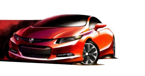 Honda Civic Concept : le futur sera sportif
