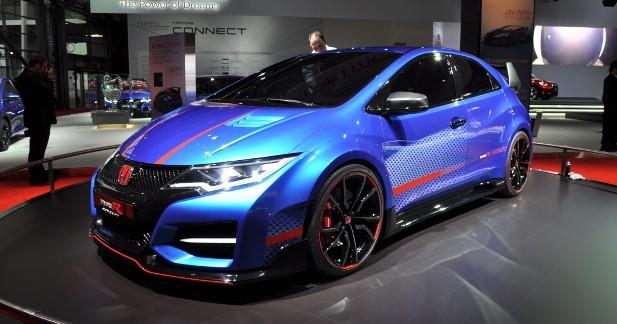 Mondial Auto 2014 : Honda Civic Type R Concept, elle enclenche le turbo