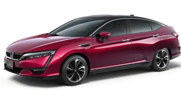 Honda Clarity Fuel Cell: en réponse à la Toyota Mirai
