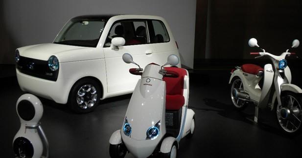 Honda EV-N : éco-rétro