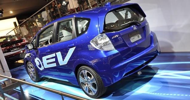 Honda EV Concept : Bleu électrique
