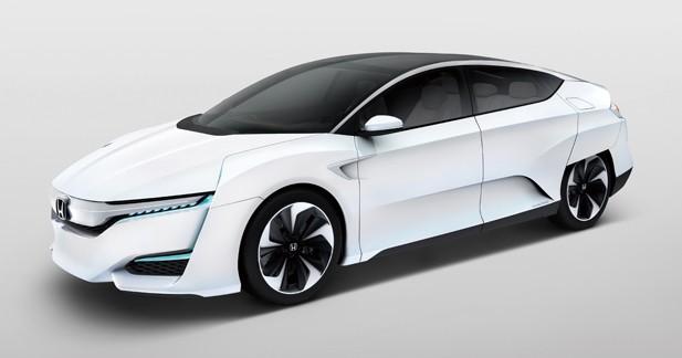Honda FCV Concept: la pile à combustible toujours à l'étude