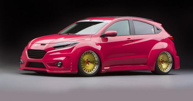 Un Honda HR-V haut en couleur pour le SEMA Show