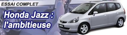 Honda Jazz : l'ambitieuse