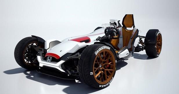 Honda Project 2&4: un siège, quatre roues, et c'est tout