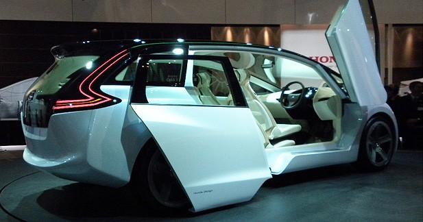 Honda Skydeck Concept : hybride et distingué