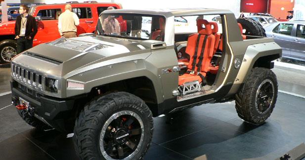 Hummer HX Concept : 4x4 en kit ?