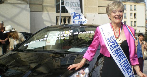Hyundai récompense Super Mamie 2010