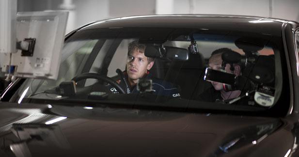 Vettel s'intéresse à l'hybride chez Infiniti