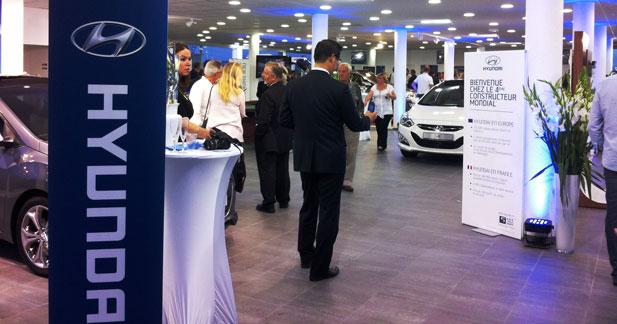 Le réseau Hyundai continue de se développer