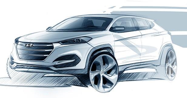 Les premières images du nouveau Hyundai iX35