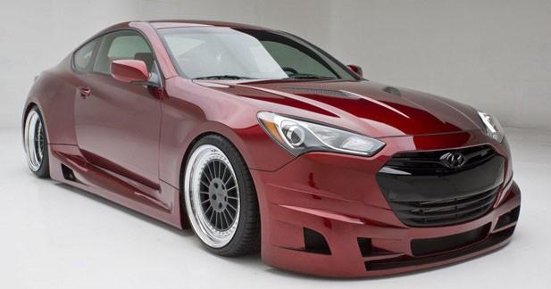 SEMA Show : 315 chevaux dans le coupé Hyundai Genesis