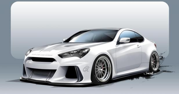 Bientôt une Hyundai Genesis Coupé pour concurrencer la BMW M4?