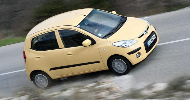 Hyundai i10 1.1 66 ch : les points sur les i