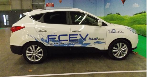Hyundai à fond sur l'hydrogène