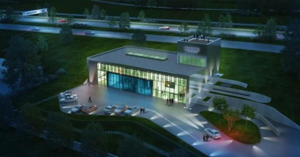 Hyundai ouvre son nouveau centre d'essai au Nürburgring