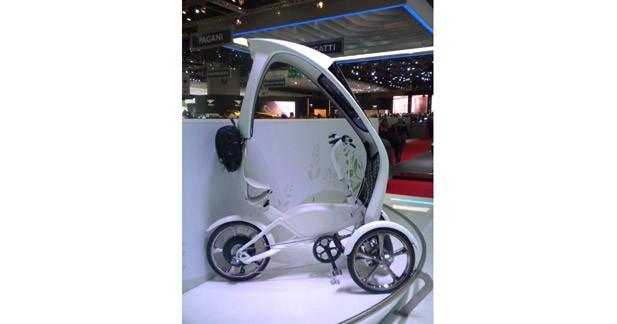 Hyundai Trike : un tricycle urbain électrique