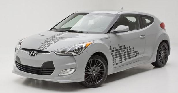 Le Hyundai Veloster RE : MIX sera commercialisé