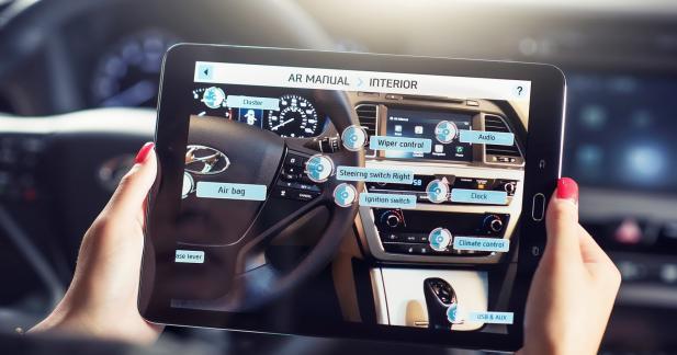 Hyundai lance les notices d'utilisation en réalité virtuelle