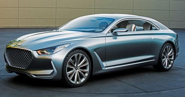 Hyundai Vision G Coupé: la future Genesis en filigrane