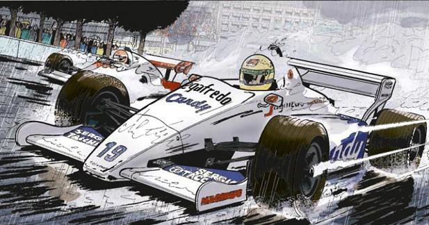 Revivez la carrière d'Ayrton Senna en BD
