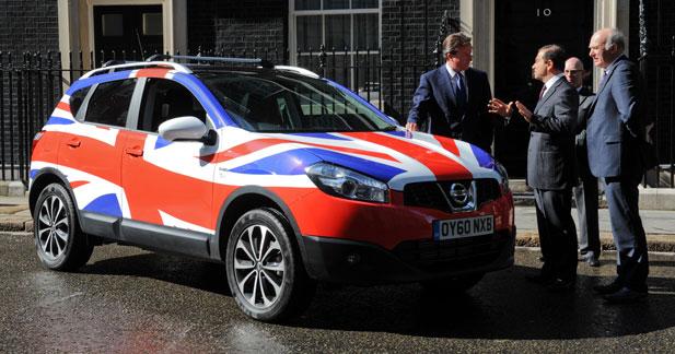 Le prochain Nissan Qashqai sera 100 % british