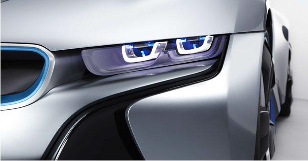 Des phares au laser chez BMW pour consommer moins