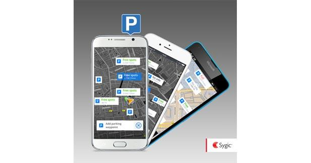 La nouvelle application Sygic intègre un service de localisation de place de parking