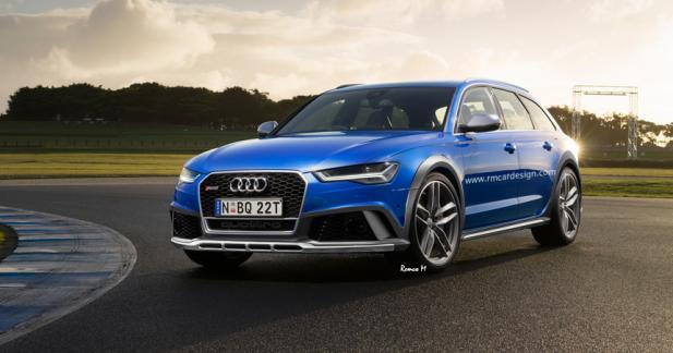 Audi RS6 Allroad: bientôt une réalité?