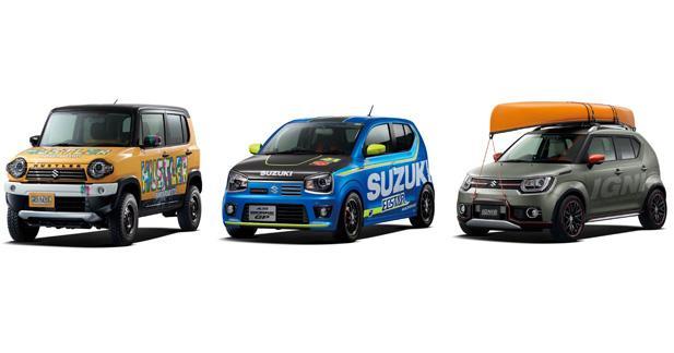 Suzuki présente trois concepts acidulés